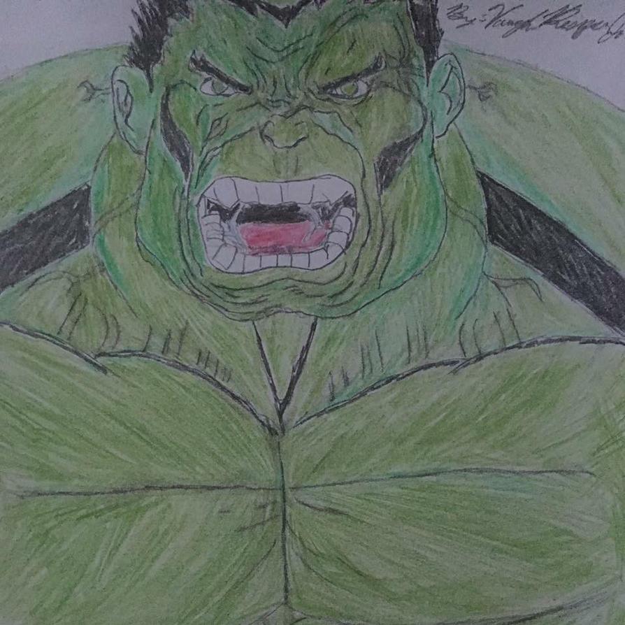 Hulk Smash by kingvaughnjr