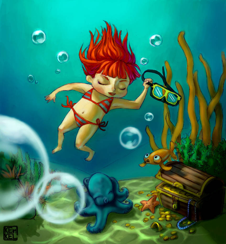 Under the sea... by Kekel