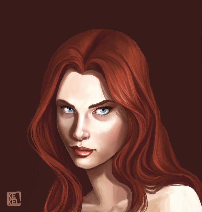 Redhair by Kekel