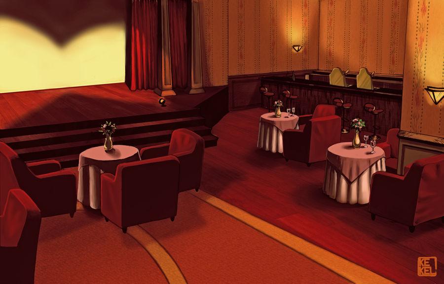 Theatre background by Kekel