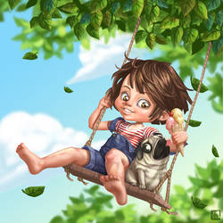 Swing fun by Kekel