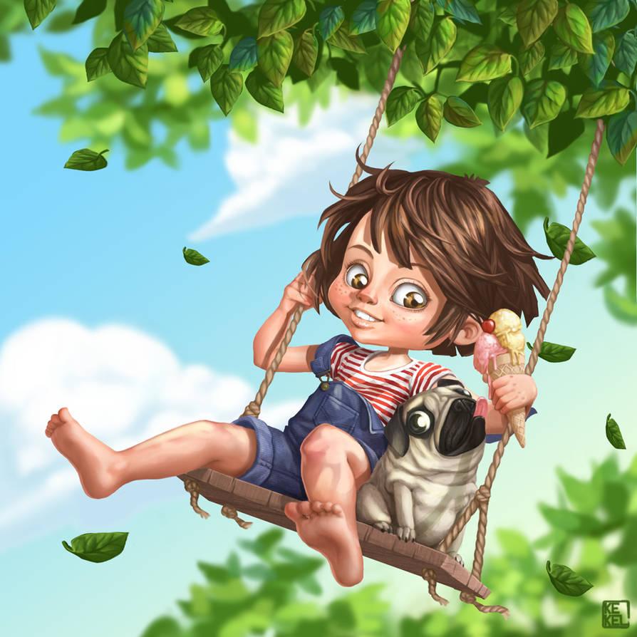 Swing fun by Kekel