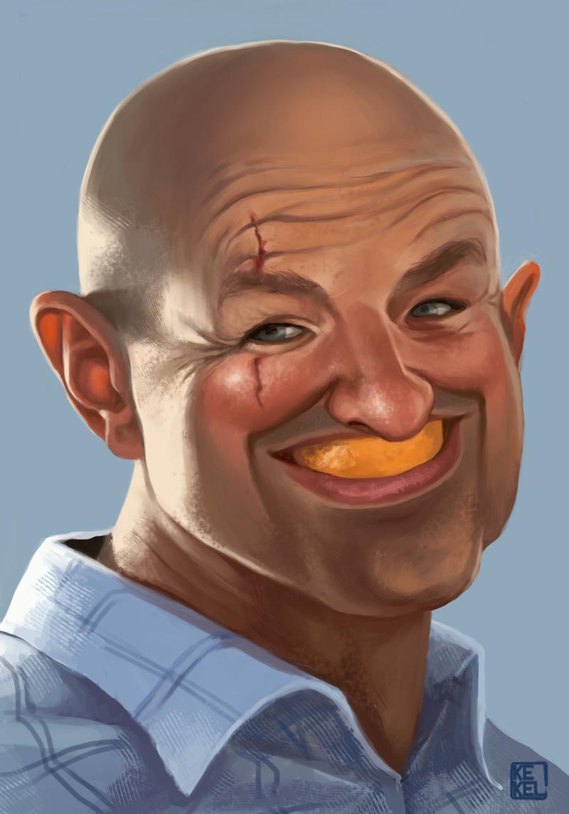 John Locke by Kekel
