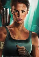 Tomb Raider Now by hiacART