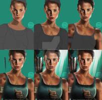 Tomb Raider - Alicia Steps by hiacART