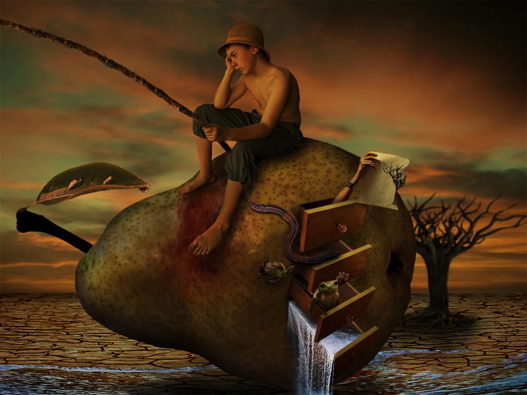 An evening imagination by Kenny-KLC