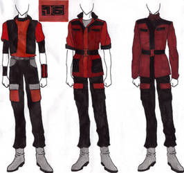 SA 16th Gundam uniforms