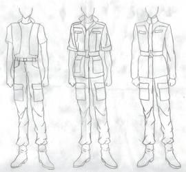 Gundam 8th Ms team Uniforms