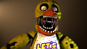 [FNAF/SFM] Withered Chica Render