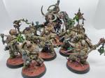 Plague Marines + Nurgle Daemon Prince