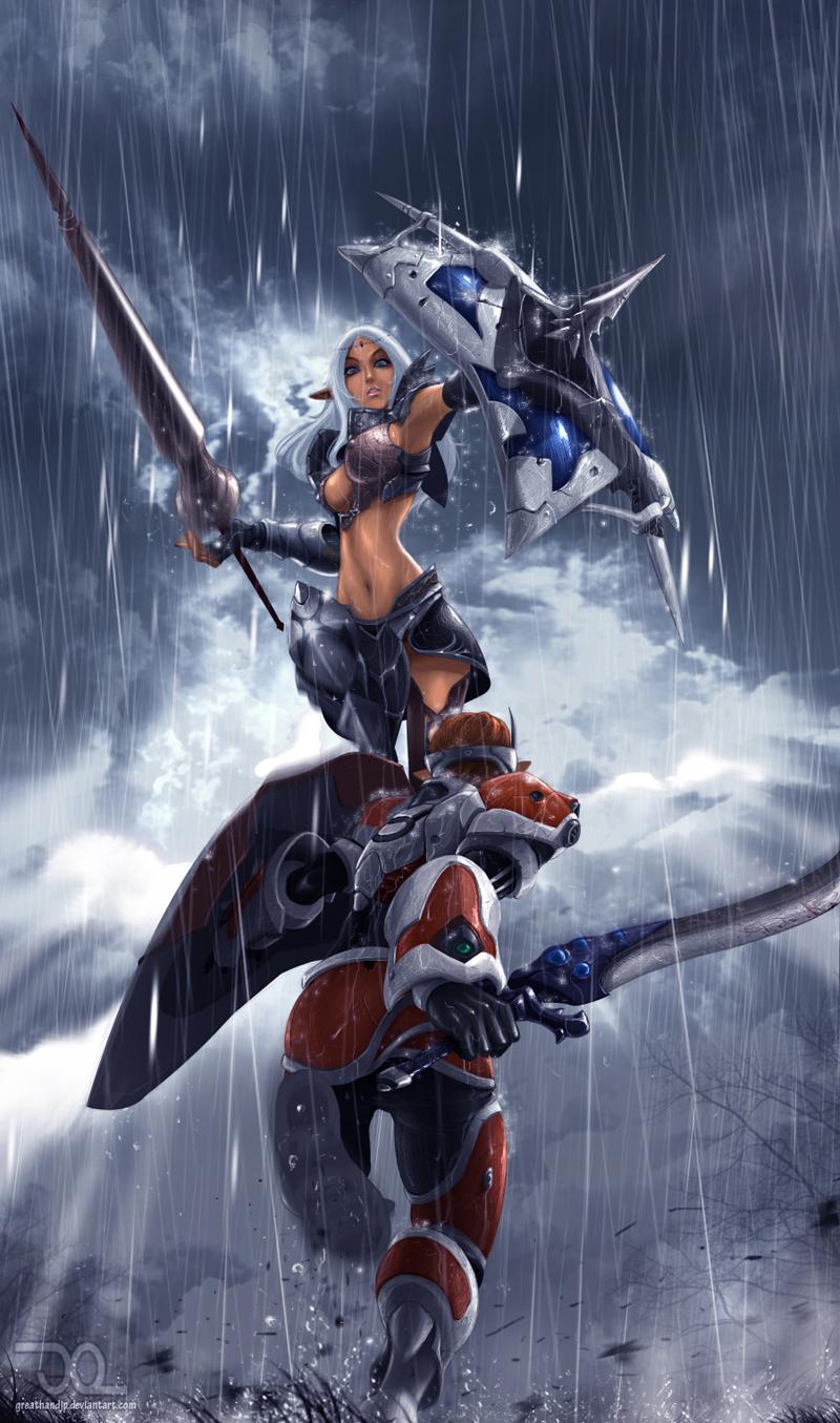Duel by greathandJP