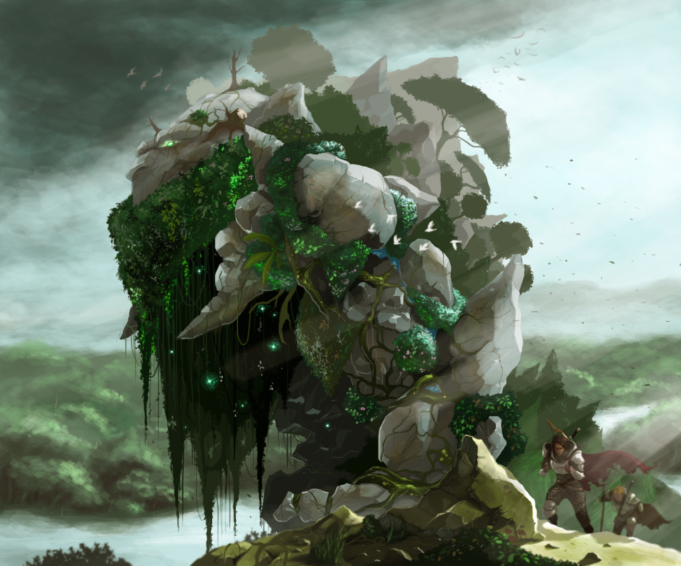 Crag - Life Colossus by greathandJP