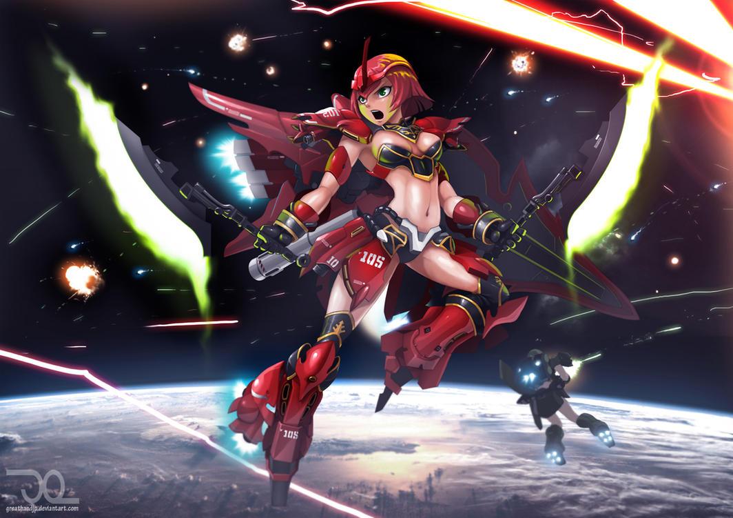 Red Comet by greathandJP