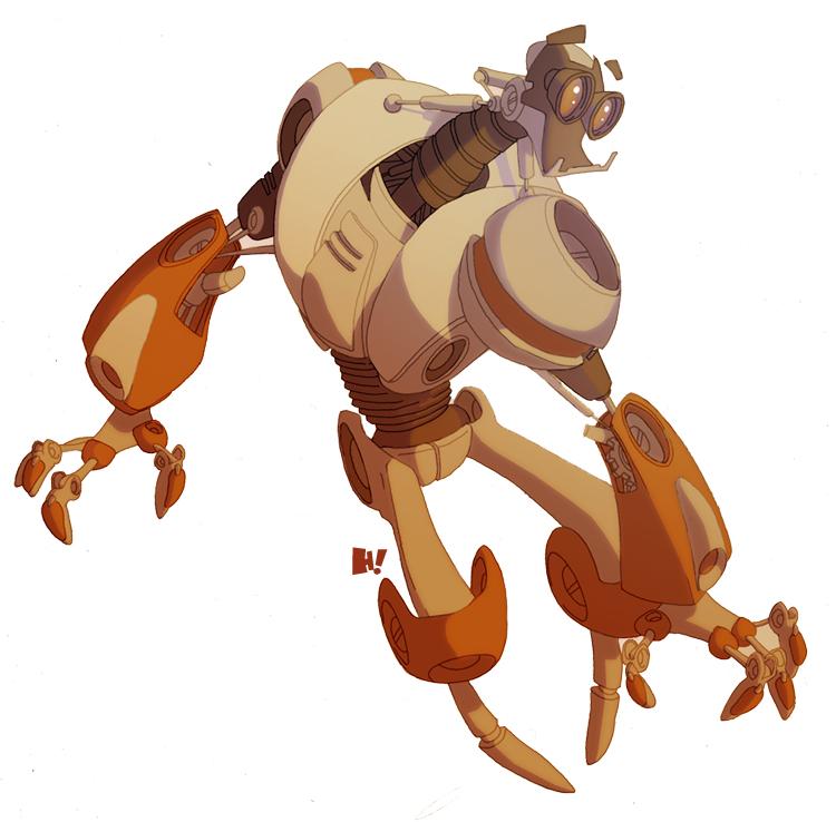 Robot design. by HughFreeman