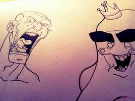 Sketch: 02 by HughFreeman