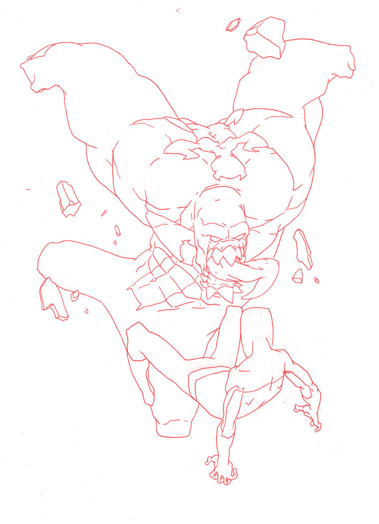 W.I.P: Spider caught a Spider by HughFreeman