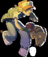 Pokemon Master by HughFreeman