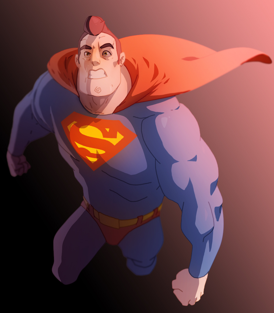 Superman [2] by HughFreeman