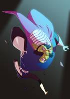 I am bad. I am evil. I am MOJO JOJO! by HughFreeman