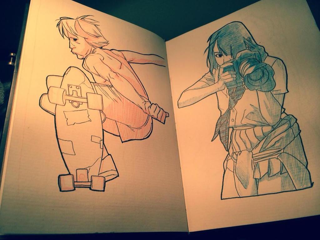 Sketchbook: 003 by HughFreeman