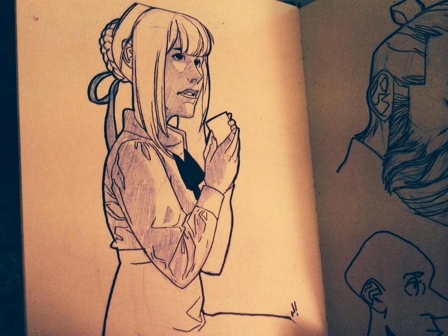 Sketchbook: 004 by HughFreeman