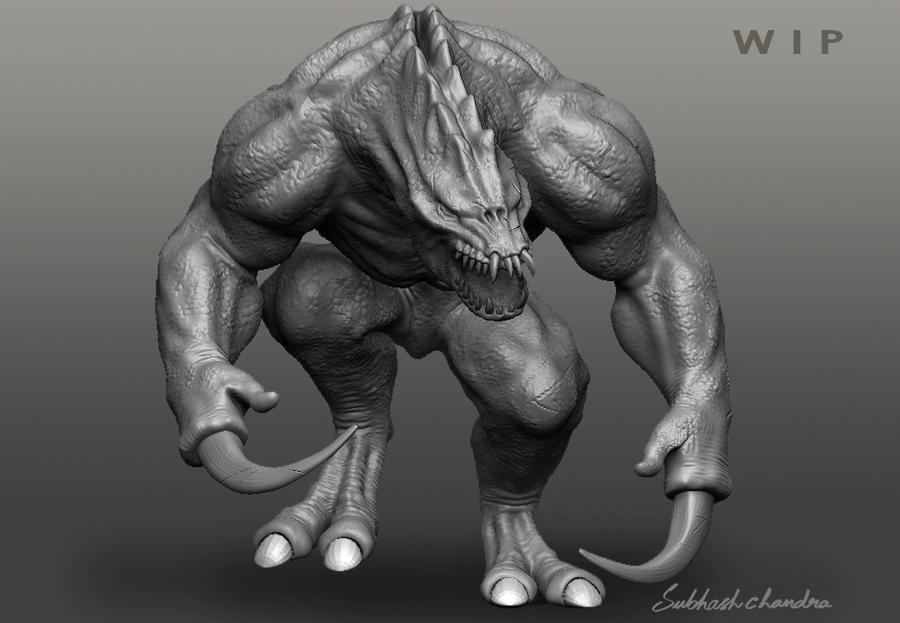 Creature 01 by nhsubhash