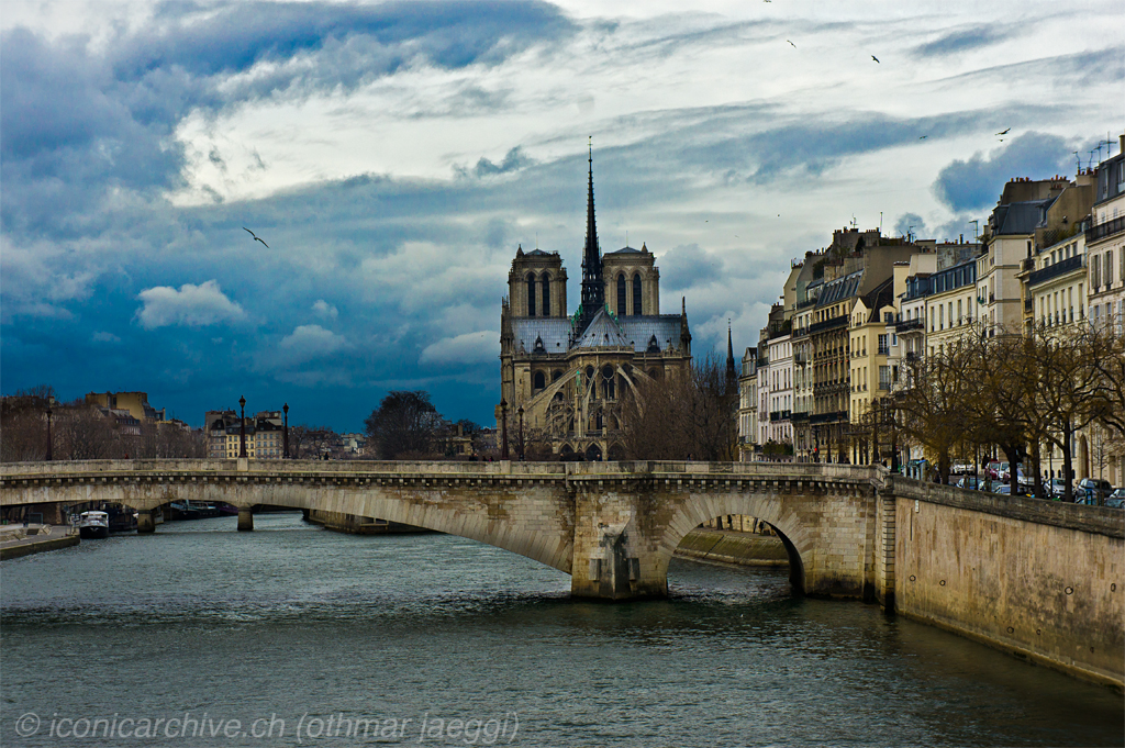 Paris, Notre Dame by iconicarchive