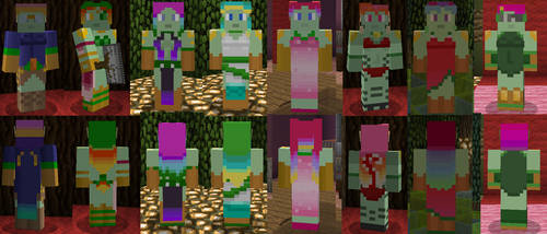 Legion Minecraft Skins by Nero-The-Lime