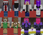MSF High - Main Character Minecraft Skins