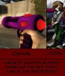 MSF High: Nanako's Emotion Blaster Mod
