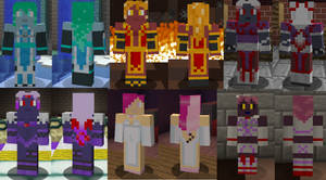 MSF High - Student Minecraft Skins (Collection 1)