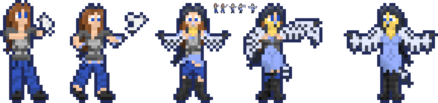 Allergic Reaction TFTG Sprites by Nero-The-Lime