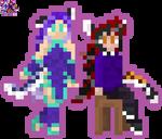 Wraith and Aakashi Neko Sprites