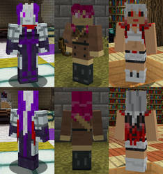 MSF High - Fractaltied Minecraft Skins (Set 1) by Nero-The-Lime