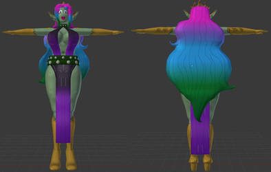 Legion Queen Althea 3D Model by Nero-The-Lime