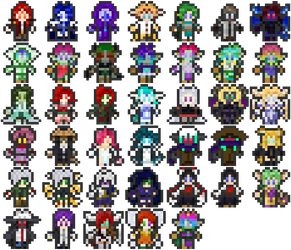 MSF High and Mahou Pathfinder Sprite Collection