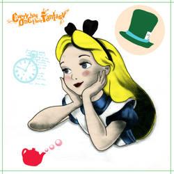 Alice In Wonderland by Zianel by crazysweety