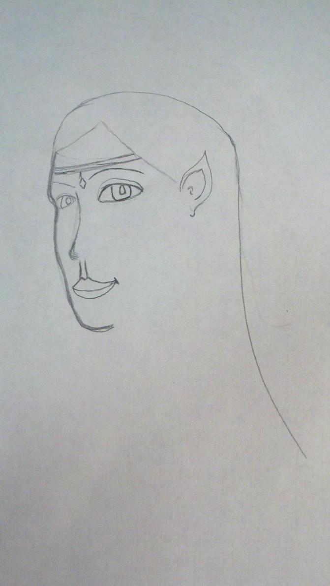 Day 4: Gwyn line art by TraciJo