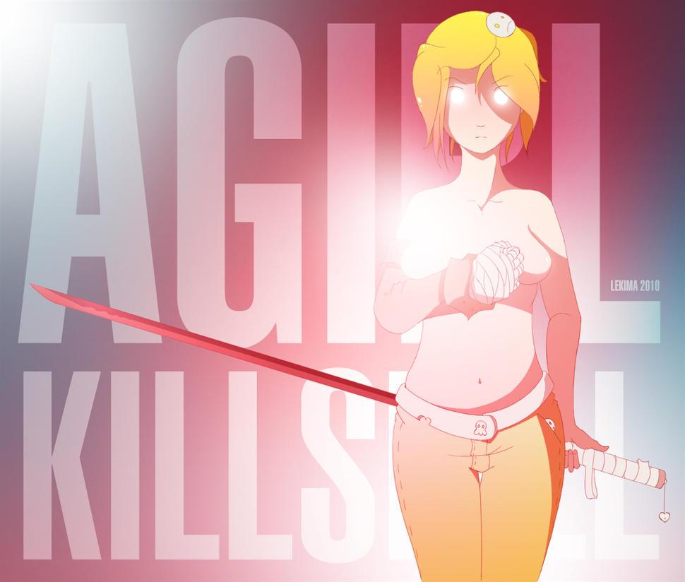 A Girl Kills Bill by lekima
