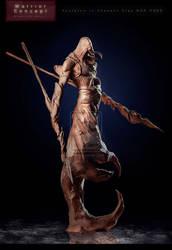 WARRIOR in Clay by GianlucaRolli