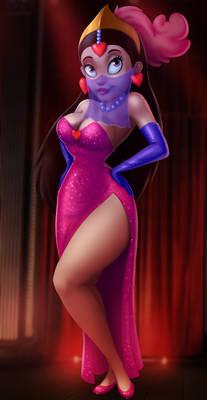 Princess Yum Yum as Jessica Rabbit by 14-bis
