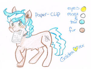 .:Reference Sheet:. Paper-Clip