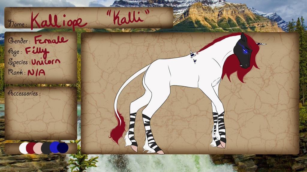 WTW- Light Clan- Foal- Kalliope by Jocyhope