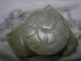 Carving of TLJ talisman