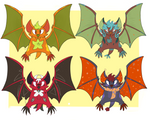 ADOPTABLES: BATS 1 OPEN (400 POINTS) by Lauriekits