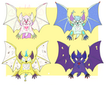 ADOPTABLES: BATS 2 OPEN (600 POINTS) by Lauriekits