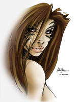 Witchblade by philipbrown77