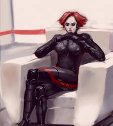 Cyber girl 2 by N1cknameHere