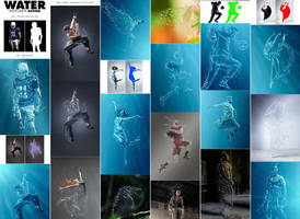 Water Photoshop Action by GraphicAssets