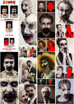 Zombie Photoshop Action by GraphicAssets